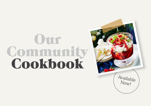 Purchase Your Community Cookbook